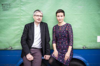 Europawahl - auch in Gronau! Sven Giegold und Ska Keller