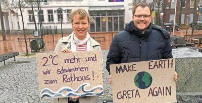 Susan Trautwein-Köhler und Florian Wielens