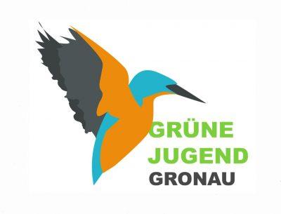 Eisvogelemblem der Grünen Jugend Gronau