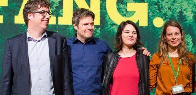 Mitglieder des Grünen-Bundesvorstandes